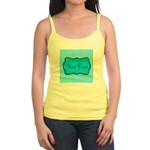 Personalizable Teal and White Tank Top