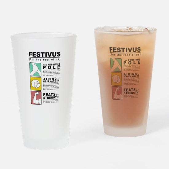 FESTIVUS™ diagram Drinking Glass