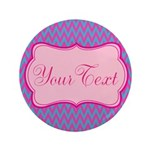 Pink and Blue Personalizable 3.5