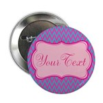 Pink and Blue Personalizable 2.25