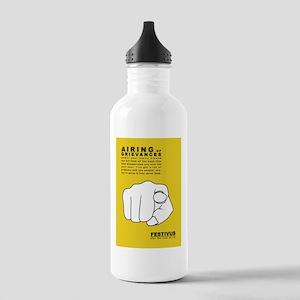 FESTIVUS™ airing of grievances Water Bottle