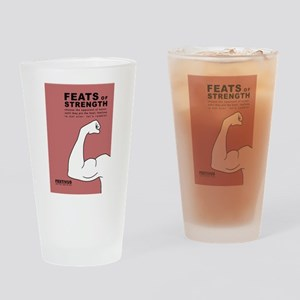FESTIVUS™ feats of strength Drinking Glass