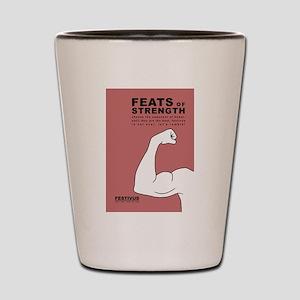 FESTIVUS™ feats of strength Shot Glass