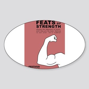FESTIVUS™ feats of strength Sticker