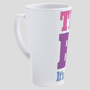 try-bi_tr 17 oz Latte Mug
