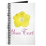 Tropical Flower Personalizable Journal