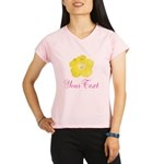 Tropical Flower Personalizable Performance Dry T-S