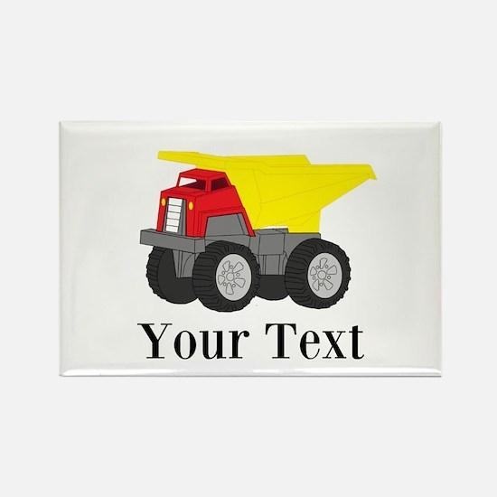 Personalizable Dump Truck Magnets