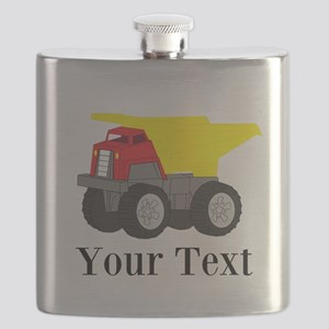 Personalizable Dump Truck Flask