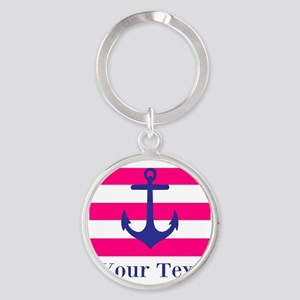 Personalizable Anchor Keychains