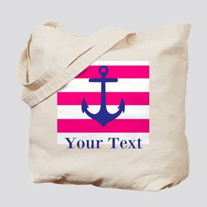 Personalizable Anchor Tote Bag