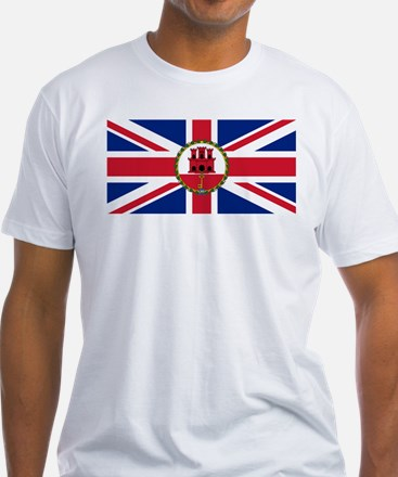 Gibraltar Governor Flag T-Shirt