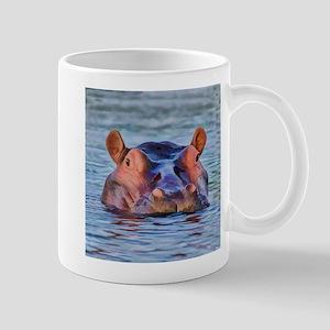 Bathing Beauty Hippo Mugs