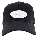 Personalizable Pink Hearts Baseball Hat