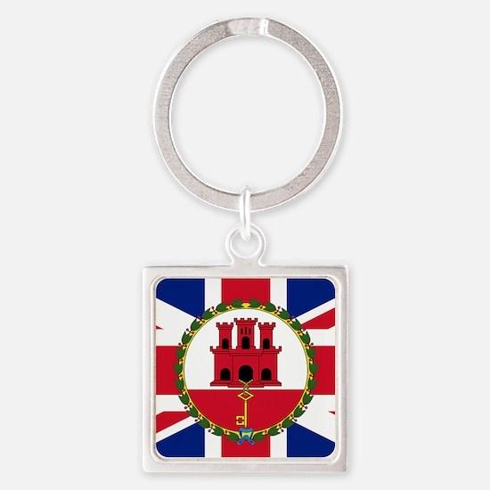 Gibraltar Governor Flag Keychains