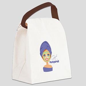 Get Pampered Canvas Lunch Bag