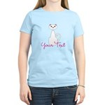 Personalizable White Cat T-Shirt