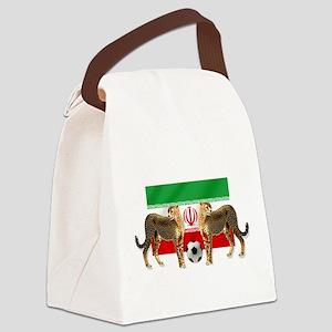 Iran Cheetahs Canvas Lunch Bag