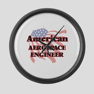 American Aerospace Engineer Large Wall Clock