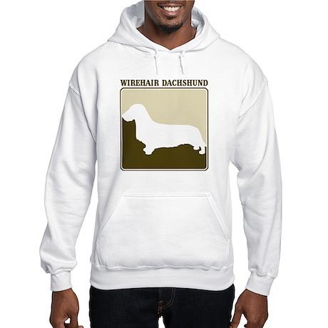 Professional Wirehair Dachshu Hooded Sweatshirt
