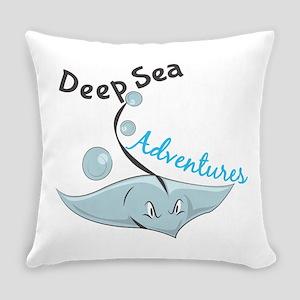 Deep Sea Adventures Everyday Pillow