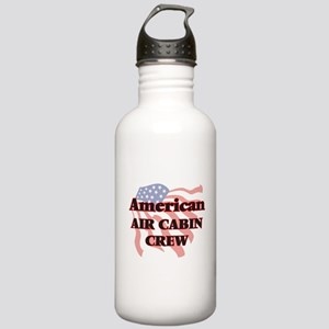 American Air Cabin Cre Stainless Water Bottle 1.0L
