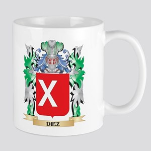 Diez Coat of Arms (Family Crest) Mugs