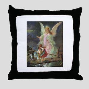 Victorian Angel Throw Pillow