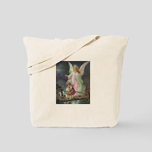 Victorian Angel Tote Bag