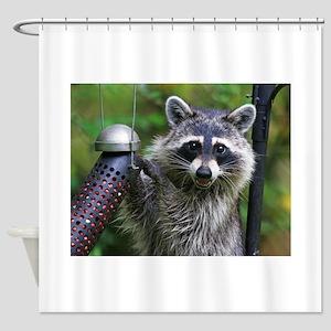 Bandit Shower Curtain