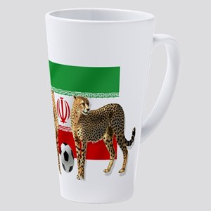 Iran Cheetahs 17 Oz Latte Mug