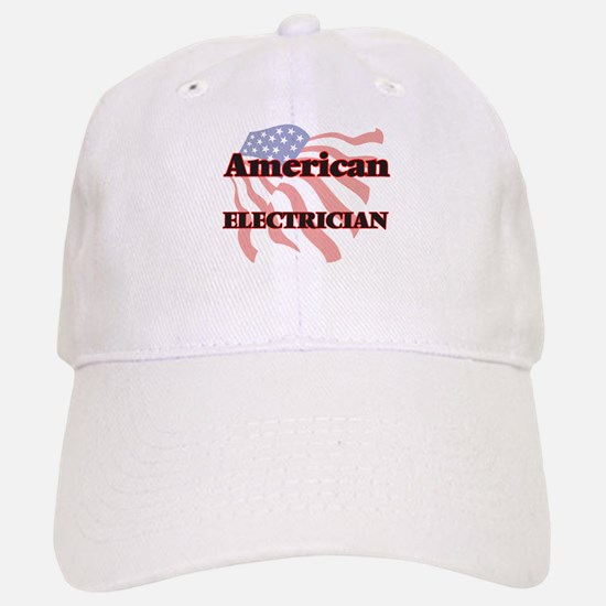 American Electrician Baseball Baseball Cap