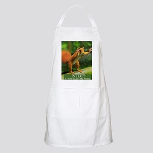 squirrel lost his nuts 2 Apron