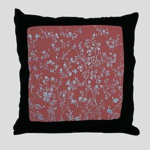 Chinoiserie Chinese Art motif Throw Pillow