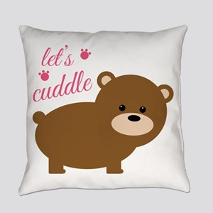 Lets Cuddle Everyday Pillow