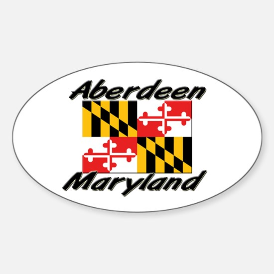 Aberdeen Maryland Oval Decal