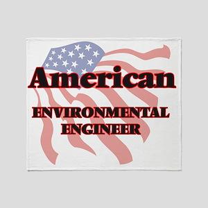 American Environmental Engineer Throw Blanket
