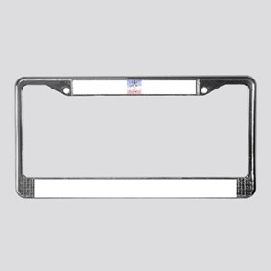Angel of The Spring License Plate Frame