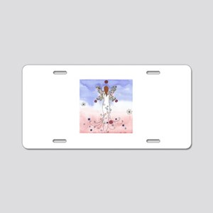 Angel of The Spring Aluminum License Plate