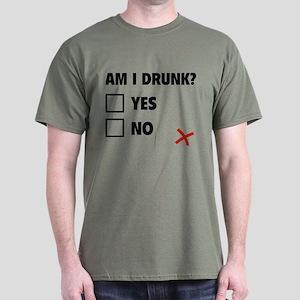 Am I Drunk? Dark T-Shirt
