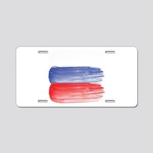 Russia flag russian Aluminum License Plate