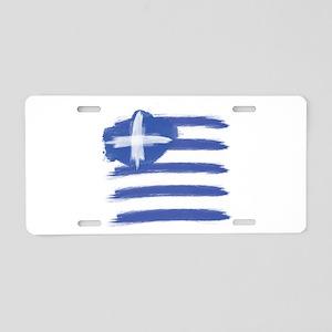 Greece Flag greek Aluminum License Plate