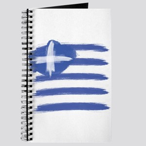 Greece Flag greek Journal