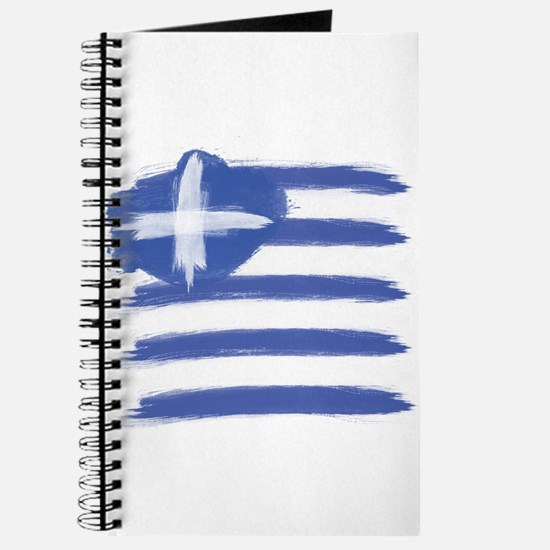 Greece Flag greek Journal