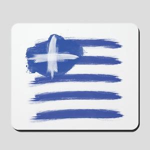 Greece Flag greek Mousepad