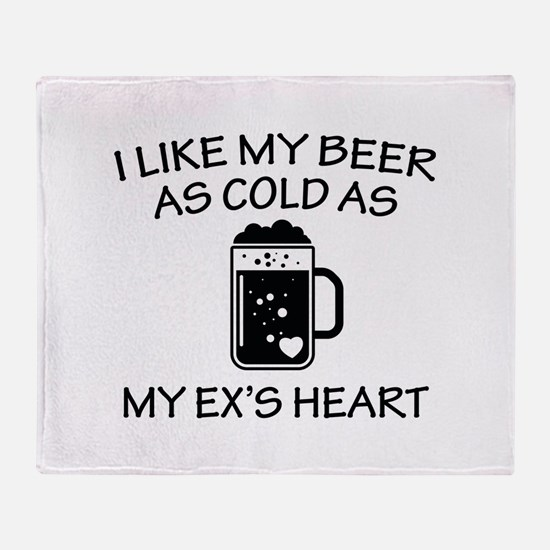 As Cold As My Ex's Heart Stadium Blanket