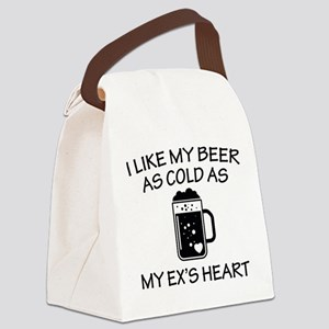 As Cold As My Ex's Heart Canvas Lunch Bag