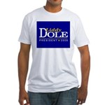 LIDDY DOLE PRESIDENT 2008 Fitted T-Shirt