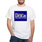 LIDDY DOLE PRESIDENT 2008 White T-Shirt