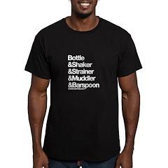 BartenderHQ Bottle & Shaker T-Shirt